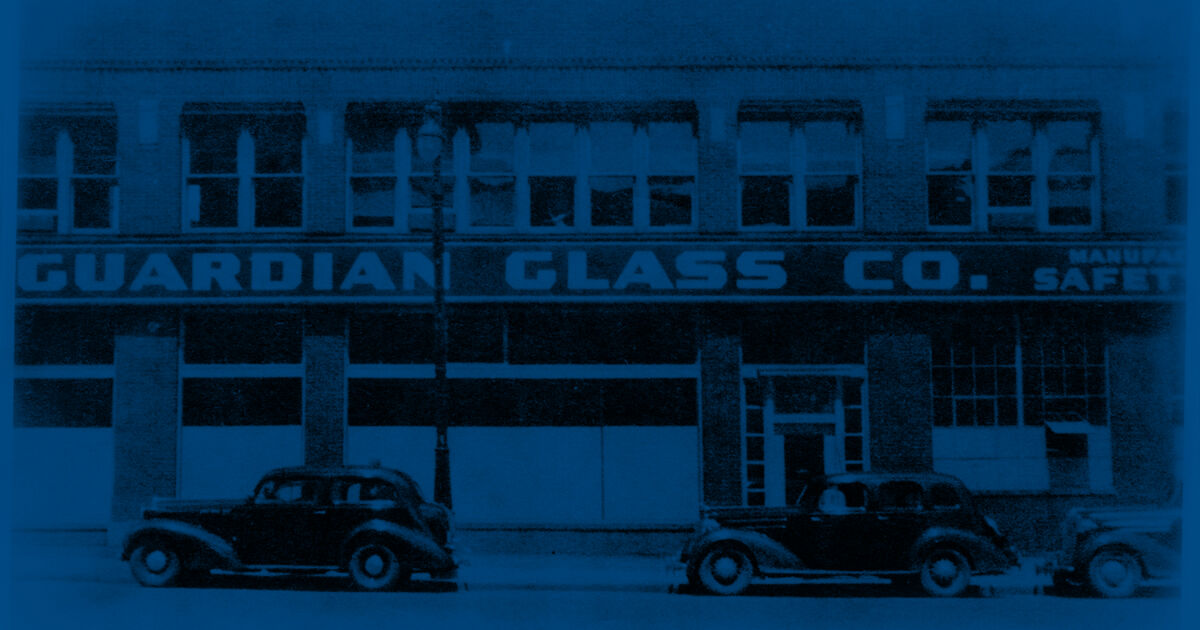 History of Guardian Glass