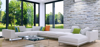 Guardian Glass - ClimaGuard - Casacor living room by Daniela Coinaghi