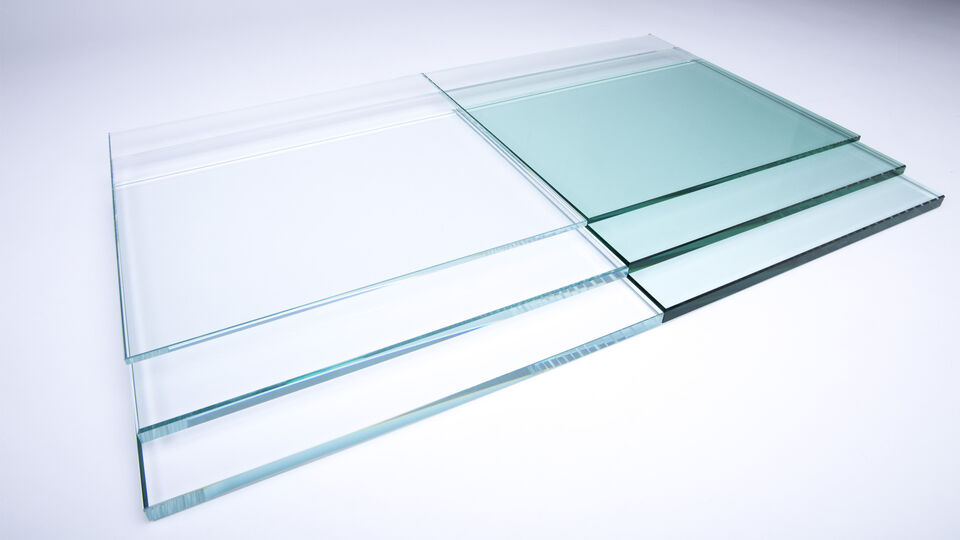 Guardian UltraClear compared to standard clear glass