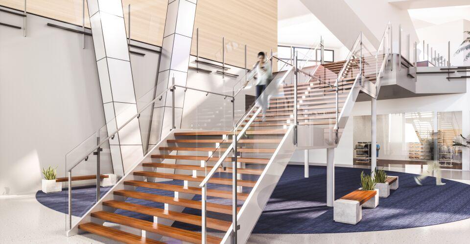 ultraclear stairway