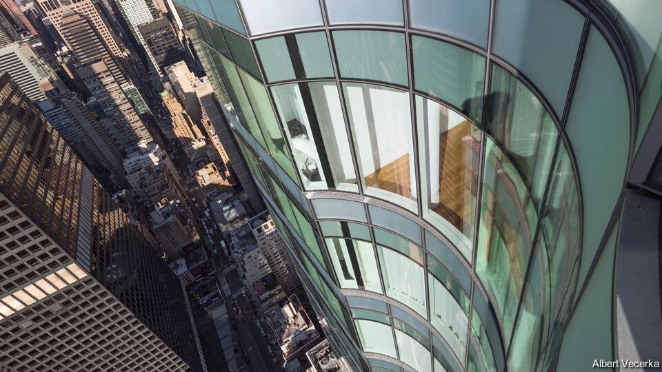 252 East 57th: Bent Glass