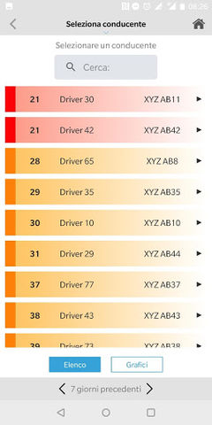 Driver Score