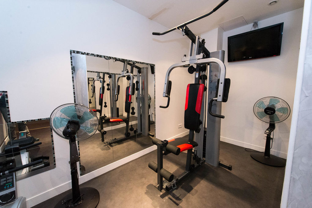 Ideal Hotel design - Fitness Center at the Ideal Hotel ...
