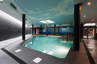 Indoor Seawater Treatment Pool
