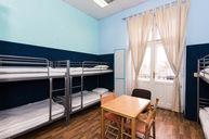 Eight Bed Hostel Room