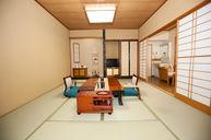 Japanese Room with Outdoor Bath (Suecho)