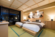 Japanese-Style Room with Terrace and Steam Sauna