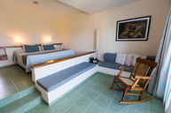 Junior Suite Room Sea View - Sunken Living Room