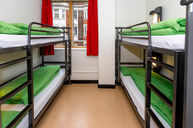 4-Bed Dorm with Private Bathroom
