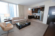 King Suite with Balcony and City View