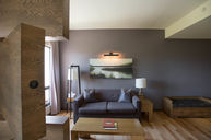 Loft with Rotating Television