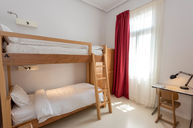 Four Beds Mixed Dorm