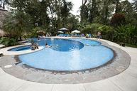 Main Pool with Bar