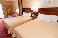 Motel Room with Two Queen Beds and Sleep Sofa