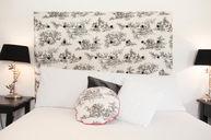 New Style Victoria Double Room Toile de Jouy