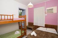 Garota de Ipanema Room for Four with Shared Bathroom
