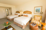 Ocean-View Room with Two Double Beds