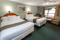 Green Room with Two Queen Beds