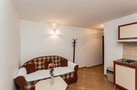 One Bedroom Apartment with Double Bed and Sofa