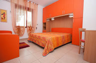 Orange Three Bed Room