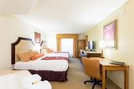 Partial Oceanview Two Queen Beds Jacuzzi Room