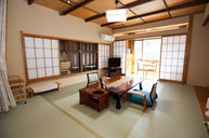 Japanese Room with Outdoor Bath (Isobe)