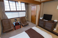 Japanese Room with Private Bath and Toilet