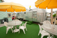 Real Airstream Trailer