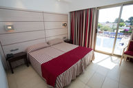 Red Superior Double Room with Pool View