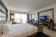 King Grand Deluxe Bedroom with Pool View