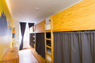 Six Bed Dorm with Shared Bathroom