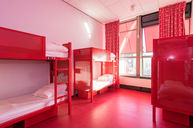 Six Person Dormitory Red Floor