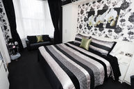 Standard Double Black & White Room