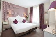 Standard Double Room Purple Detal