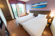 Standard Double Twin Room with Balcony