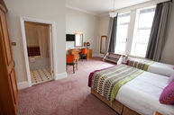 Superior Double Twin Room with Balcony