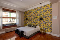 Superior Double Room with Wallpaper