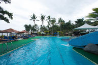 Swimming Pool and Waterslide