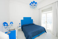 Blue Double Room with Sea View