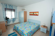Blue Four Bed Room