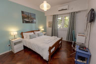 Blue Standard Double  Room with Private Bathroom