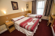 Triple Room (Double and Single Beds)