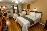 Two Double Beds with Bathtub