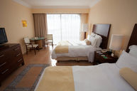 Two Double Deluxe Room with Sunset Lagoon View