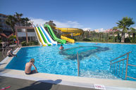 Water Slide & Kids Pool