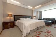 Western Styled Twins Hot Springs Double Room