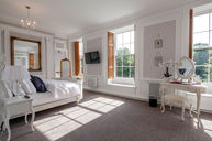 White Feature Room