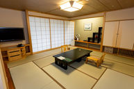 Yuraku Luxury Japanese Style Room with Open Air Bath with Mt. Fuji View