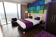 Standard Double Room (Purple Theme)