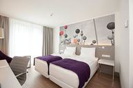 Standard Double Twin Room Purple